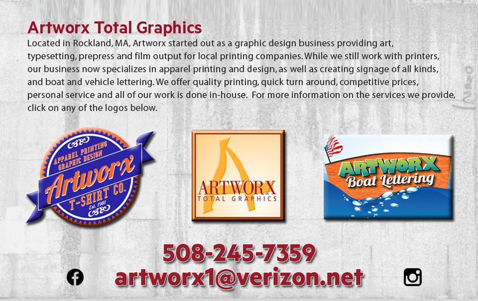 For all your sign, design and web needs: Artworx Total Graphics